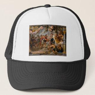 Die Sitzung von Abraham und Melchizedek Rubens von Truckerkappe