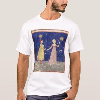 Die Sitzung von Dante und von Beatrice T-Shirt