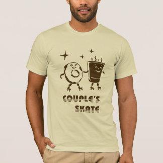 Die Skate des Paares T-Shirt