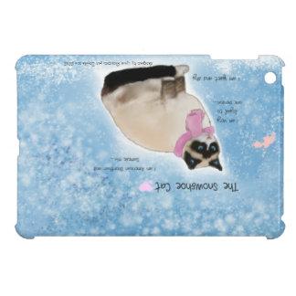 Die snowshoe-Katze Hülle Für iPad Mini