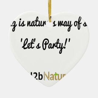 Die Soldat-Slogan 1 der Natur Keramik Ornament