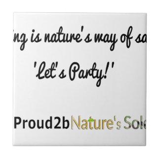 Die Soldat-Slogan 1 der Natur Keramikfliese