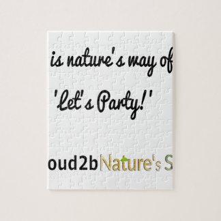 Die Soldat-Slogan 1 der Natur Puzzle