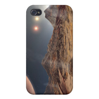 Die Sonnen HD188753 drei NASA iPhone 4/4S Cover