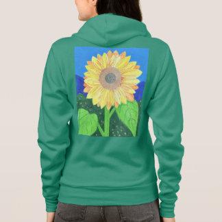 Die Sonnenblume durch Julia Hanna Hoodie