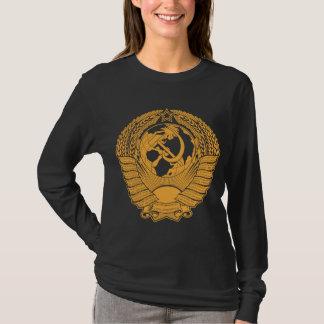 Die Sowjetunions-Wappen winden Vintagen Russen T-Shirt