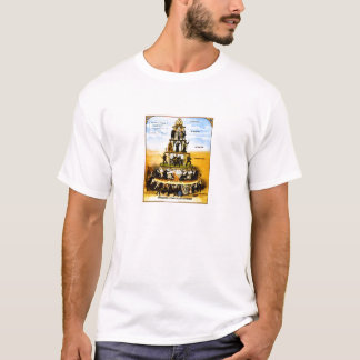 Die Sozialpyramide des Kapitalismus T-Shirt