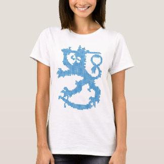 Die Spaghetti-Bügel-Spitze der Sisu Löwe-Frauen T-Shirt