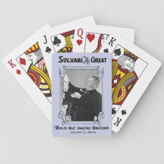 Die Spielkarten des Magiers