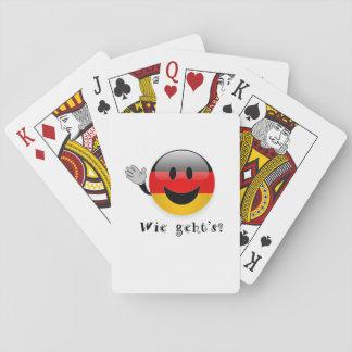 Die Spielkarten Wie gehts
