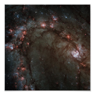 Die Spiralarm M83 NASA Poster