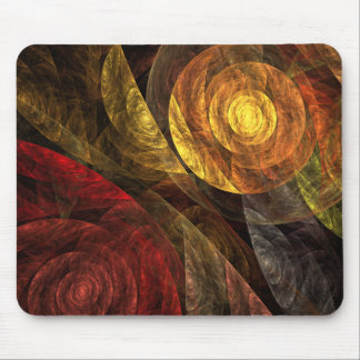 Die Spirale der Leben-abstrakten Kunst Mousepad