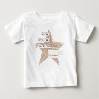 Die Spitze des Starry Stern-Säuglings Hemden