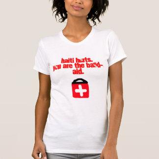 Die Spitze Hilfshaiti-Frauen (Gewinne gehen nach T-Shirt