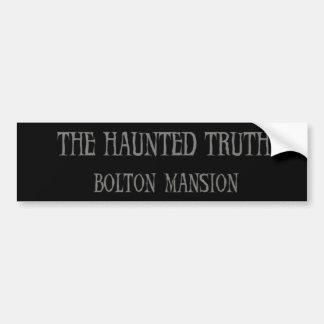 Die Spuk Wahrheit: Bolton-VillenAutoaufkleber Autoaufkleber