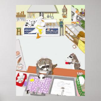 Die Spülmaschinen Poster