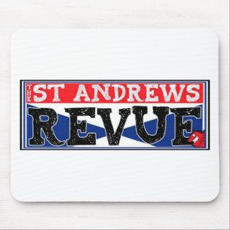 Die St- Andrewsrevue-Luxus-Linie Mauspads