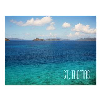 Die St- ThomasJungferninseln-Postkarte Postkarte