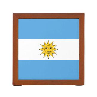 Die Staatsflagge von Argentinien Stifthalter