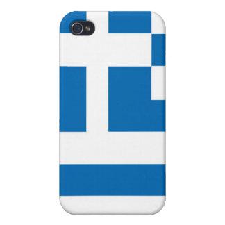 Die Staatsflagge von Griechenland iPhone 4 Cover