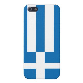 Die Staatsflagge von Griechenland iPhone 5 Hülle