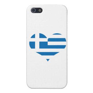 Die Staatsflagge von Griechenland Schutzhülle Fürs iPhone 5