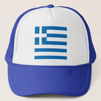 Die Staatsflagge von Griechenland Truckerkappe