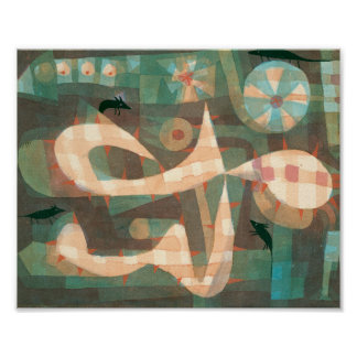 Die StachelSchleife mit den Mäusen: Paul Klee 1923 Poster
