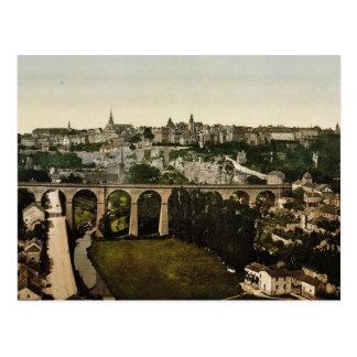 Die Stadt, Luxemburg-Klassiker Photochrom Postkarte