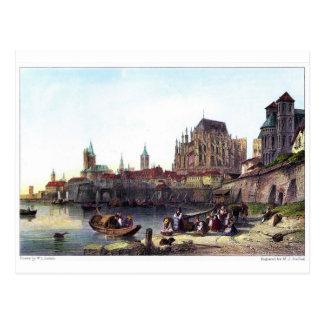 Die Stadt von Köln, graviert von M.J. Starling Postkarten