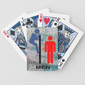 Die Stall-Wand Poker Karten