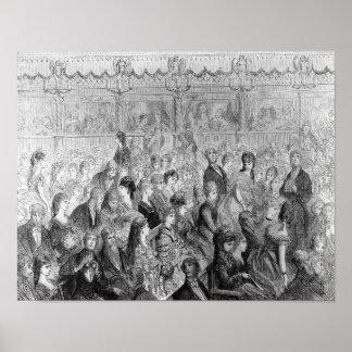 Die Ställe, Covent Garten-Oper Poster