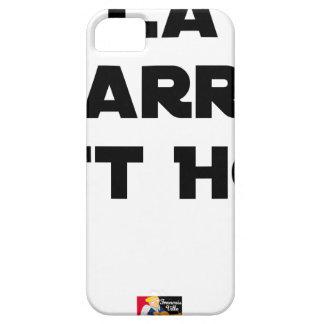 Die STANGE EST HOT - Wortspiele - Francois Ville iPhone 5 Etuis
