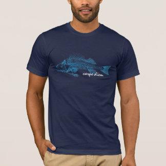 Die Stange, skeleton Tätowierung-Ähnliches Bild T-Shirt