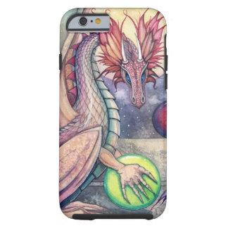Die Stangen-Fantasie-Kunst des Drachen durch Molly Tough iPhone 6 Hülle