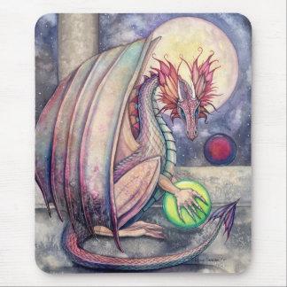 Die Stangen-Fantasie-Kunst Mousepad des Drachen