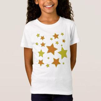 Die Stern-T-Stück des Kindes T-Shirt