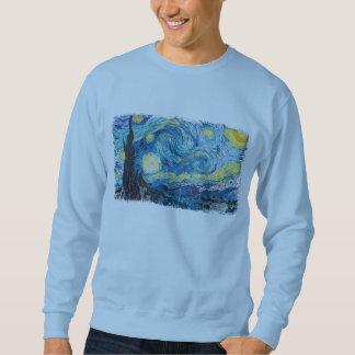 Die sternenklare Nacht durch Vincent van Gogh Sweatshirt