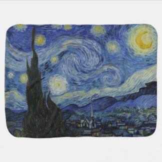 Die sternenklare Nacht Van Gogh Babydecke