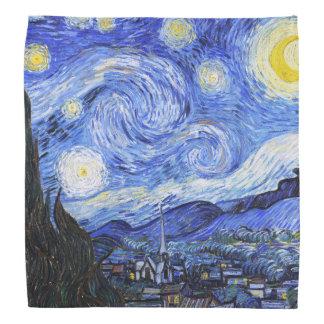Die sternenklare Nacht Van Gogh Halstuch