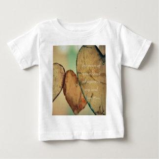 Die Stimme Ihres Herzens flüstert zu meinem Soul Baby T-shirt