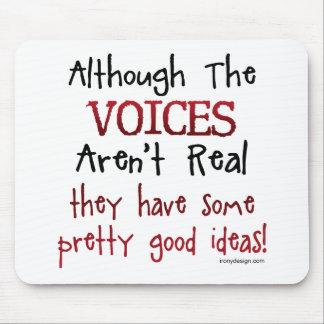 Die Stimmen sind nicht wirkliches lustiges Mousepad