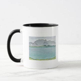 Die Stockhorn Berge und der See Thun, 1911 Tasse