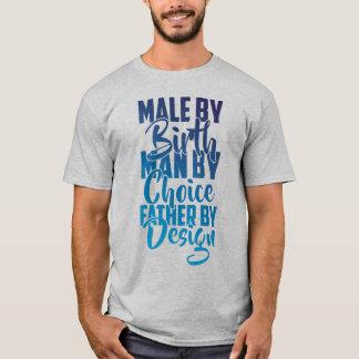 Die Straßen-Mann der Männer durch den Geburts-T - T-Shirt