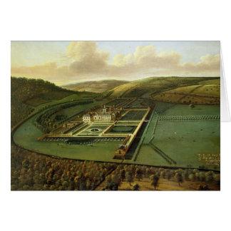 Die Südostaussicht des Hampton Court, Herefords Karte