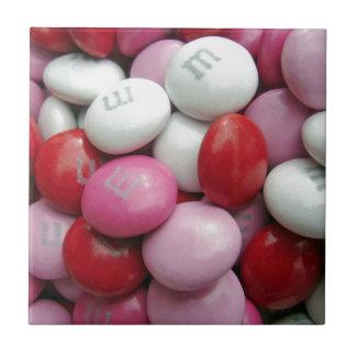 Die Süßigkeit des Valentinsgrußes Kleine Quadratische Fliese