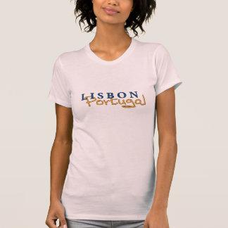 Die T Damen Lissabons Portugal T-Shirt