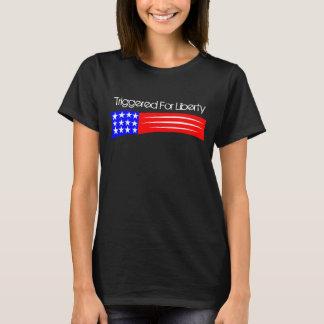 Die T der ausgelösten Frauen T-Shirt