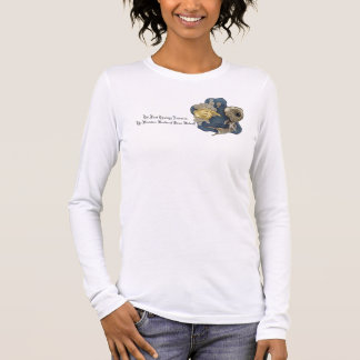 Die T der ersten Theologie-Lektions-Frauen Langarm T-Shirt