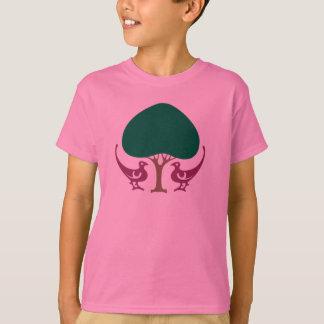 Die T der Lovebirds-Kinder T-Shirt